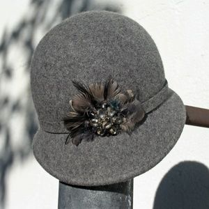 20's Style Cloche Hat